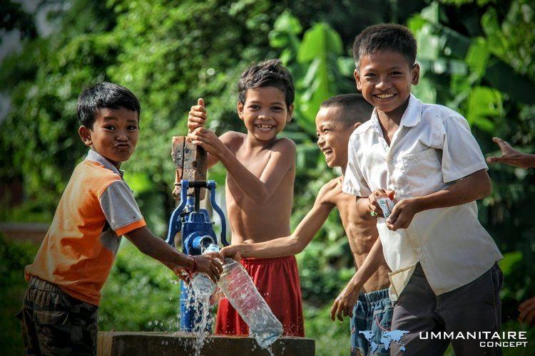 accès à l'eau grâce à un puits forage
