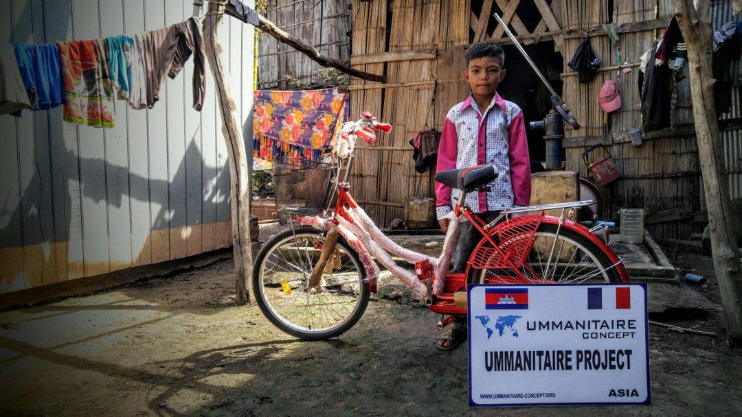 cadeau vélo orphelin